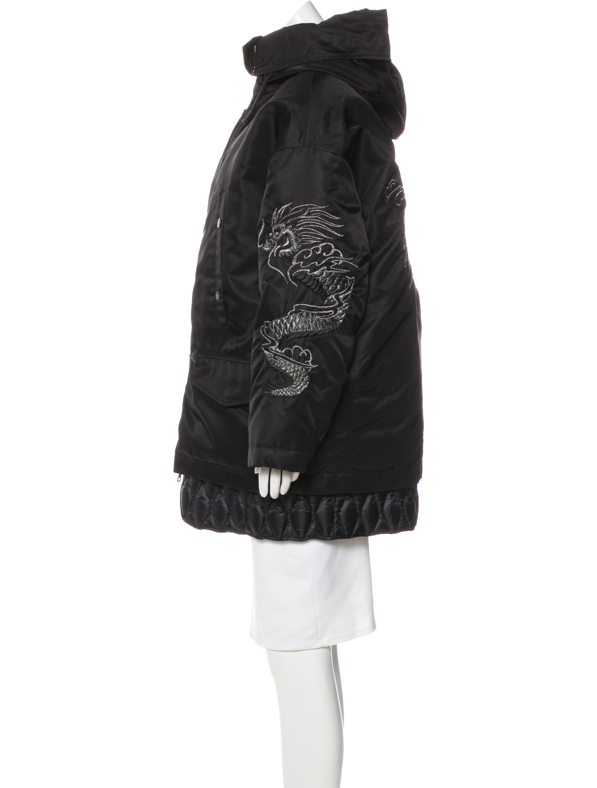 moncler ibuki hooded parka