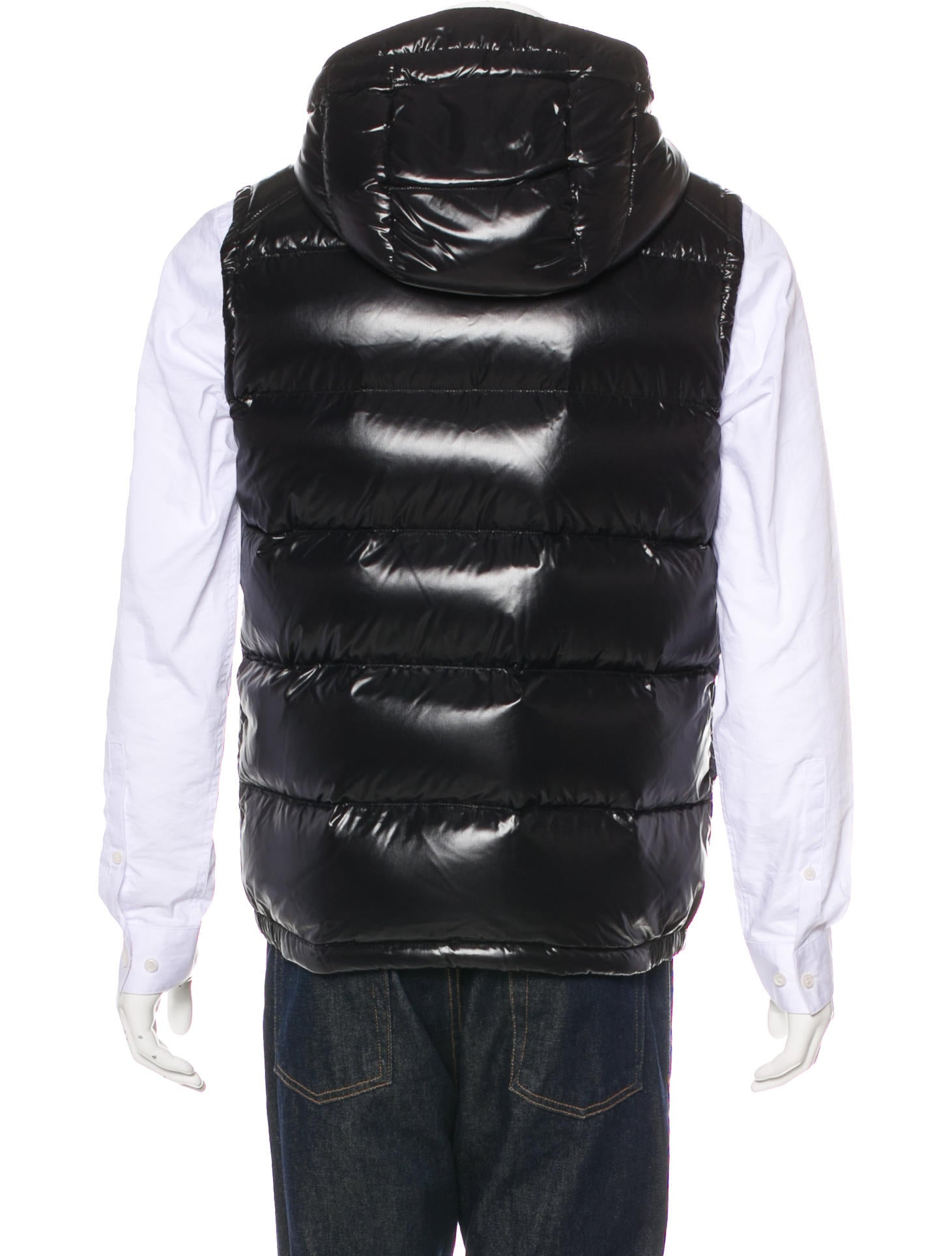 Lacet Down Hooded Gilet w/ Tags