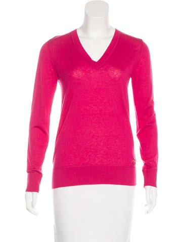 Moncler Silk & Cashmere-Blend Sweater None