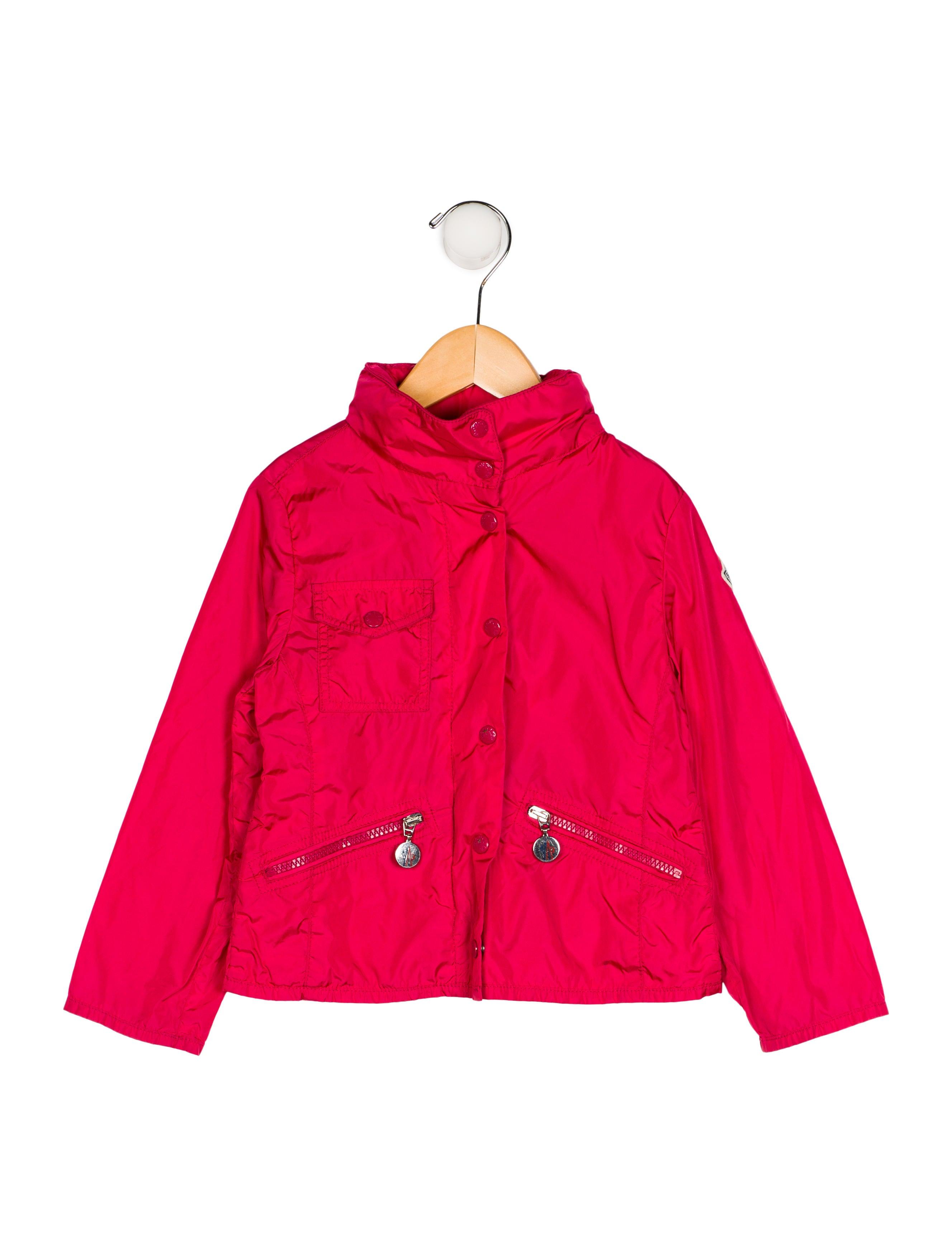 4f027fe0c Moncler Girls  Three Pocket Lightweight Jacket - Girls - MOC28453 ...