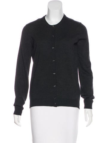 Moncler Wool Button-Up Cardigan None