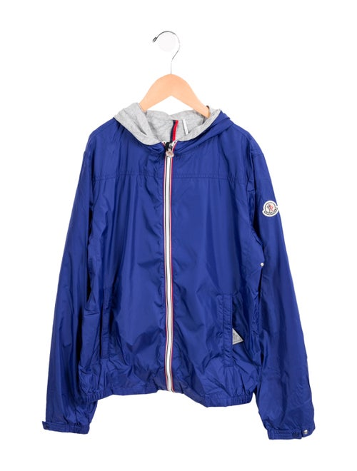 6c612f7fe Moncler Boys' Urville Giubbotto Hooded Jacket w/ Tags - Boys ...