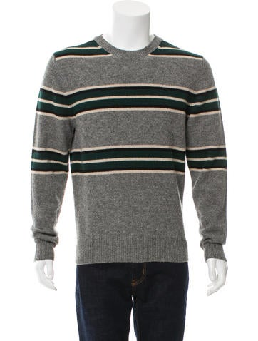 Moncler Striped Wool Sweater w/ Tags None