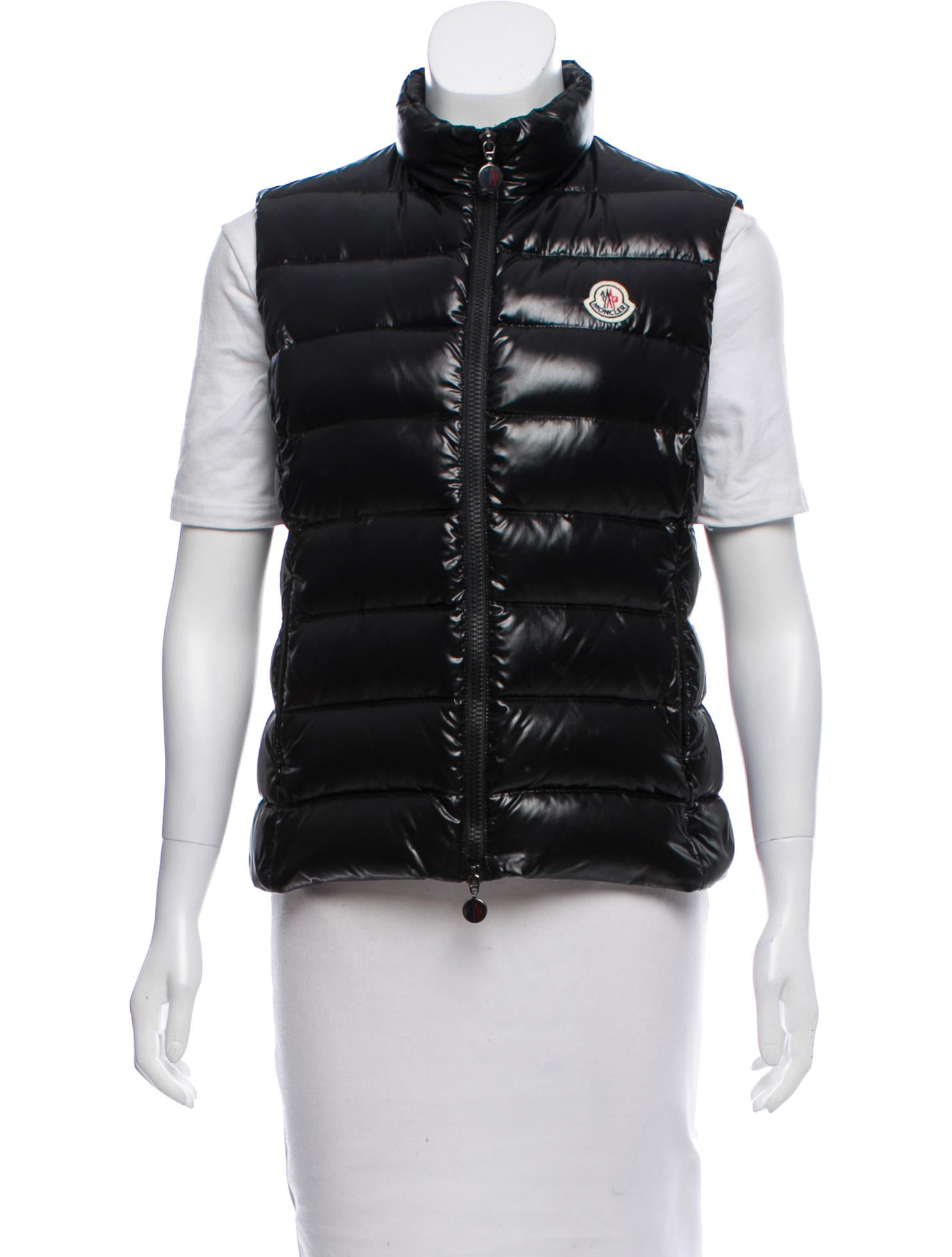 moncler ghany down vest clothing moc29406 the realreal rh therealreal com