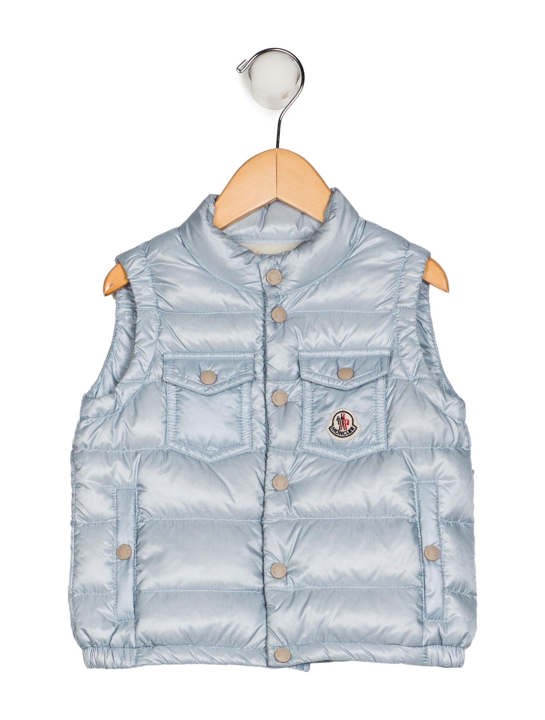 e82221ad2 Moncler Girls  Mock Neck Down Vest - Girls - MOC31211