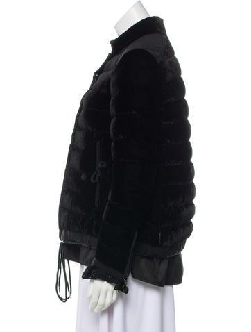 bbe8d3169 Beatrice Velvet Quilted Coat
