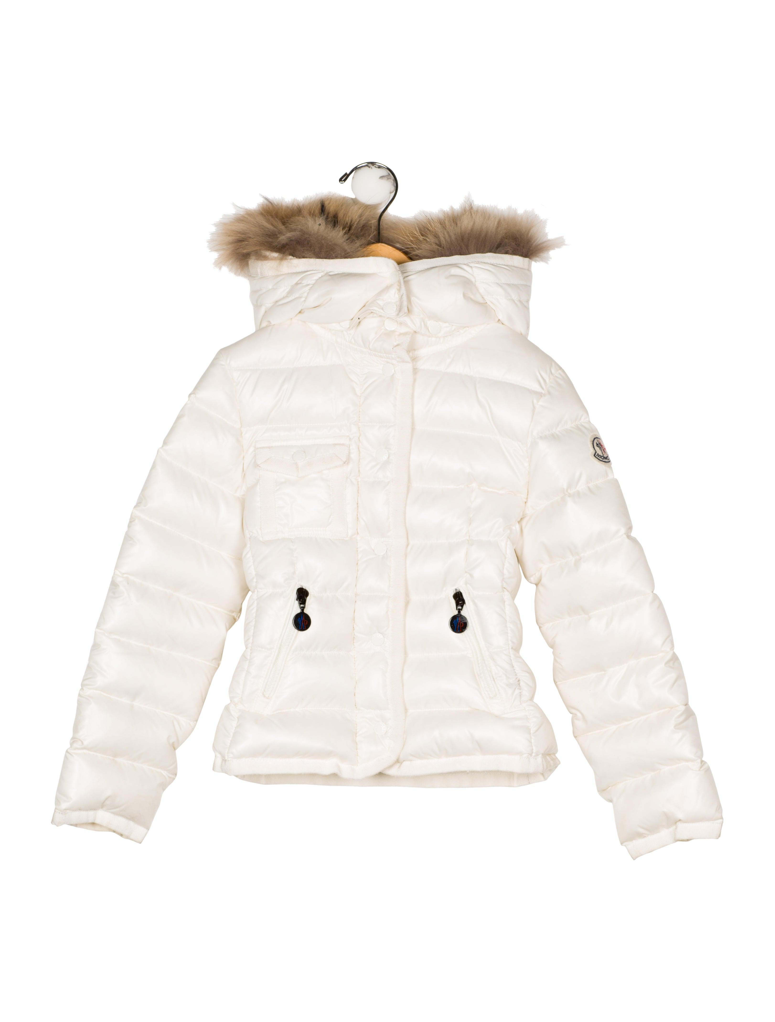 b00132f7d Moncler Girls  Fur-Trimmed Puffer Jacket - Girls - MOC32527