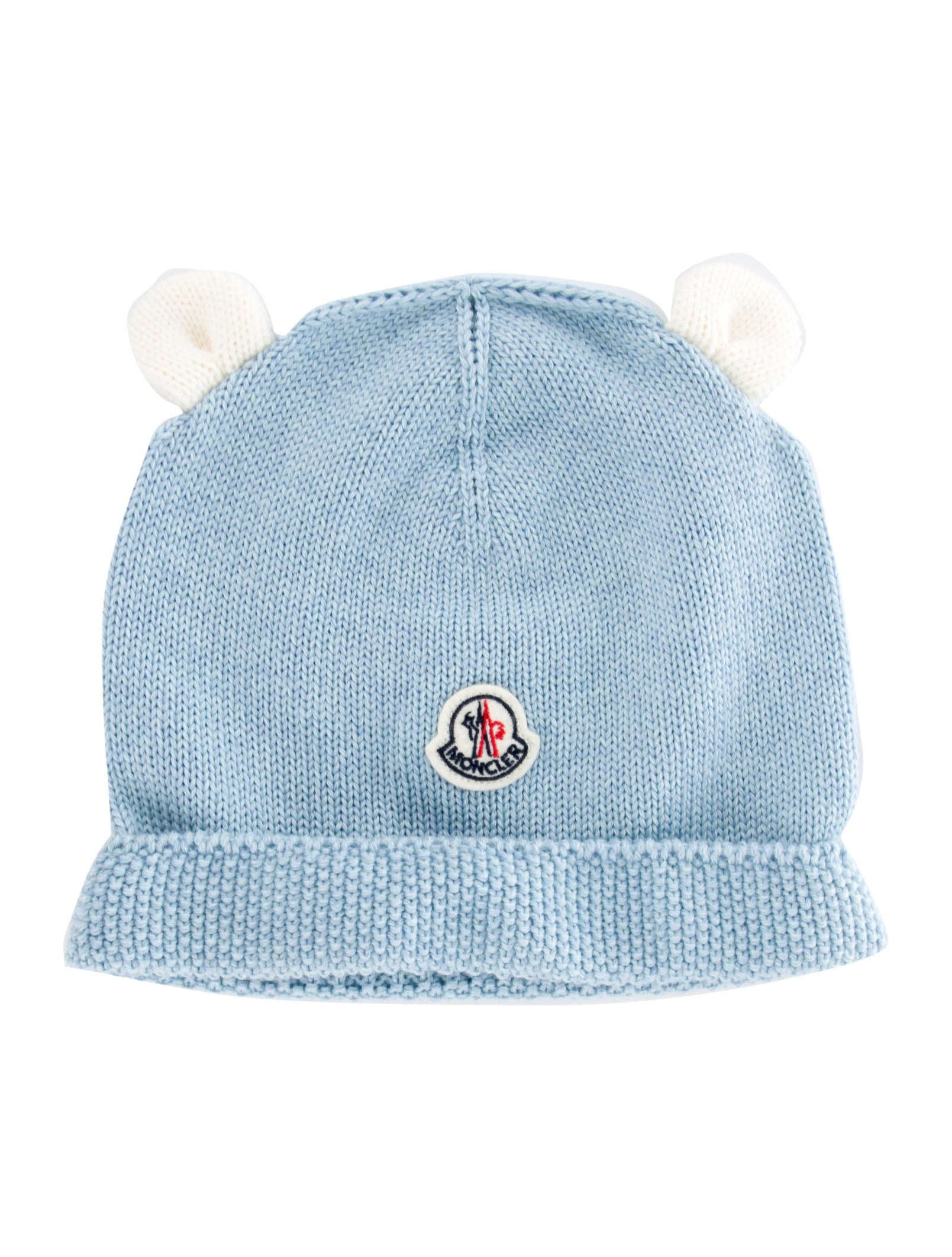 1f9432bb036 Moncler Boys  Virgin Wool Logo Beanie - Boys - MOC33174