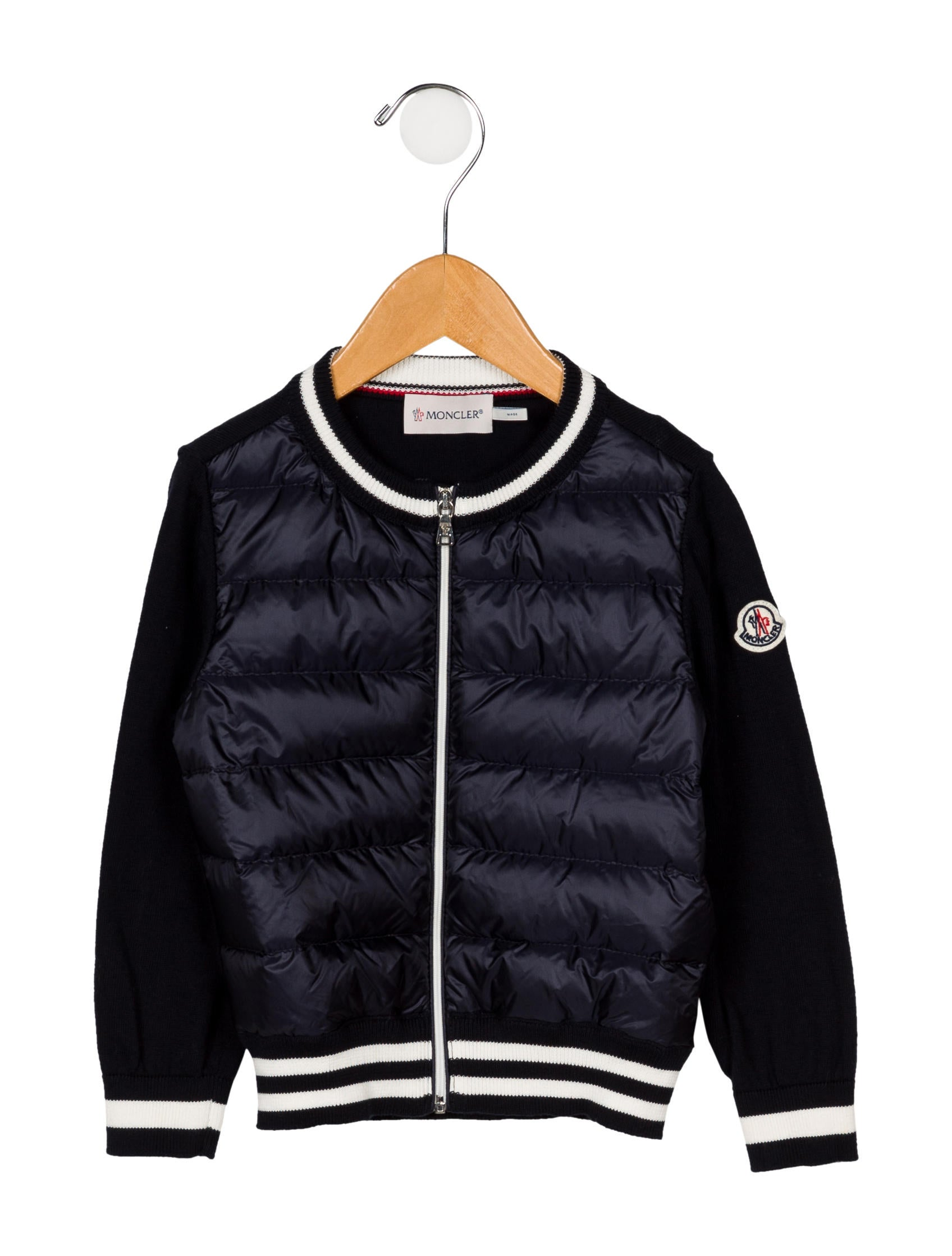 Tricot Realreal Moncler Moc35167The Boys Maglione Cardigan Boys' TFc3ulJK1