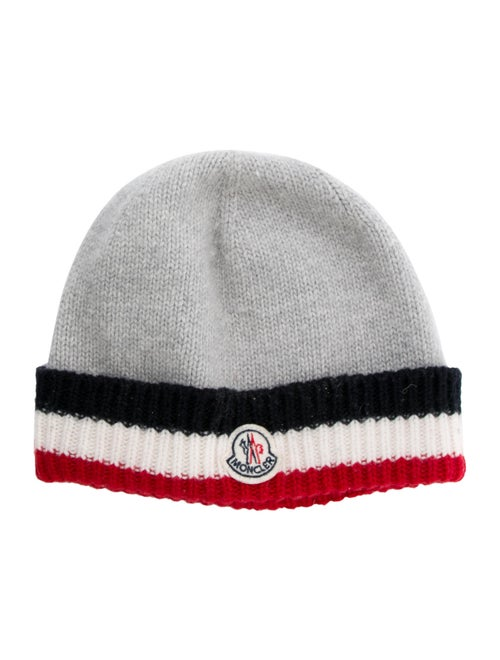 low priced a9633 450b7 Moncler Boys  Wool Berretto Knit Hat - Boys - MOC37548   The RealReal