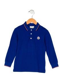 80b5f5bbf1 Moncler. Boys  Collared Shirt