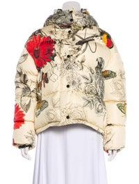 Floral Down Jacket image 1