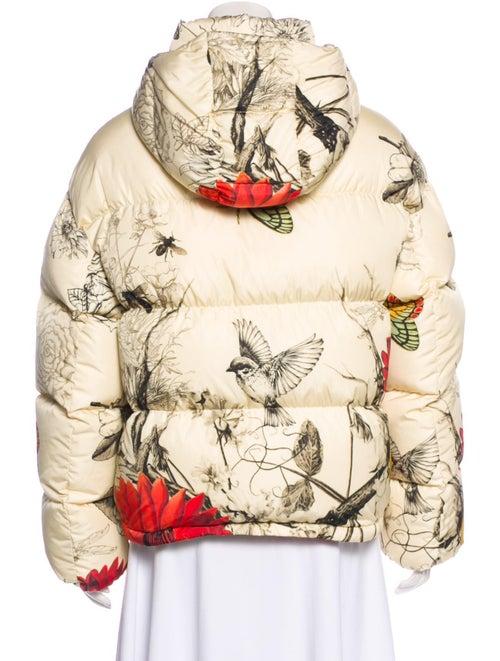 Floral Down Jacket