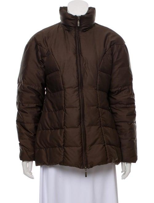 Moncler Vintage Puffer Jacket Brown