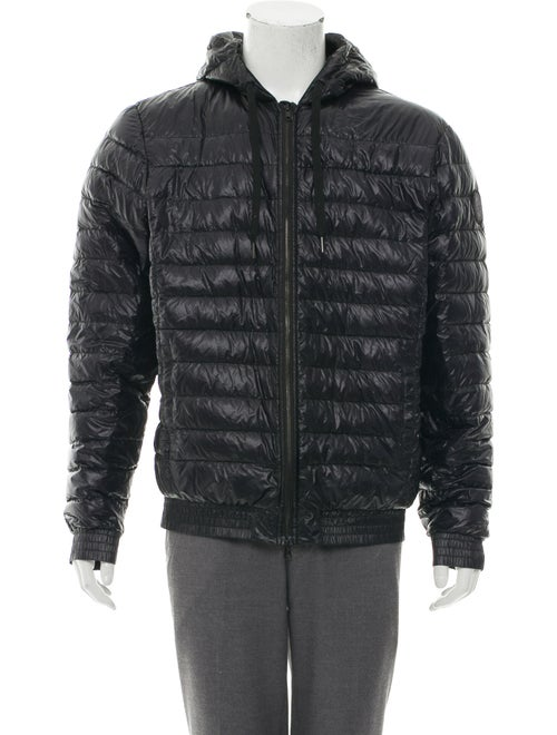 Moncler Quilted Puffer Jacket black