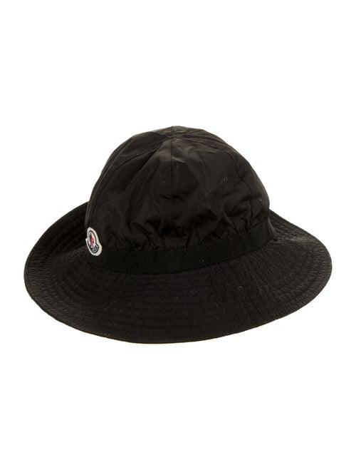 Moncler Nylon Bucket Hat Black