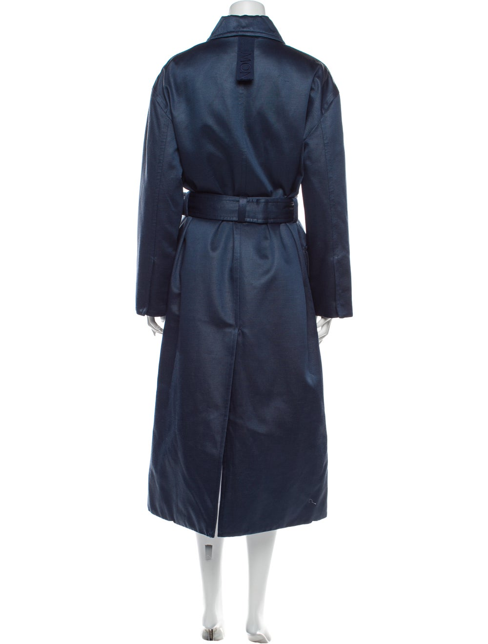 Moncler Genius Marigold Striped Trench Coat w/ Ta… - image 3