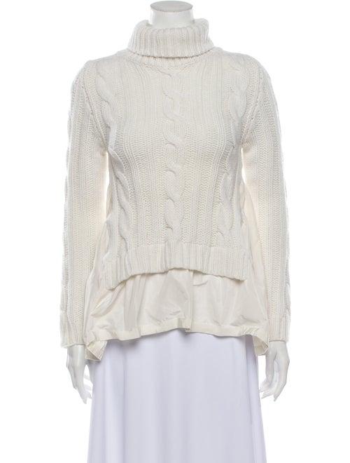 Moncler Wool Turtleneck Sweater Wool