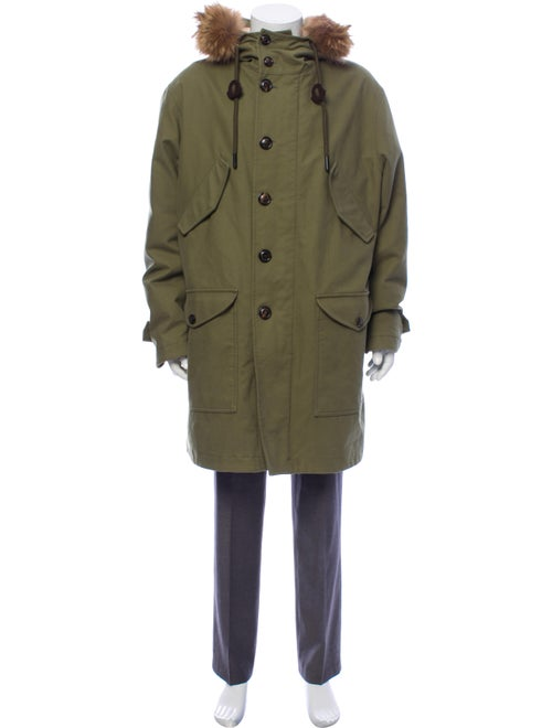 Moncler Talence Coat Green