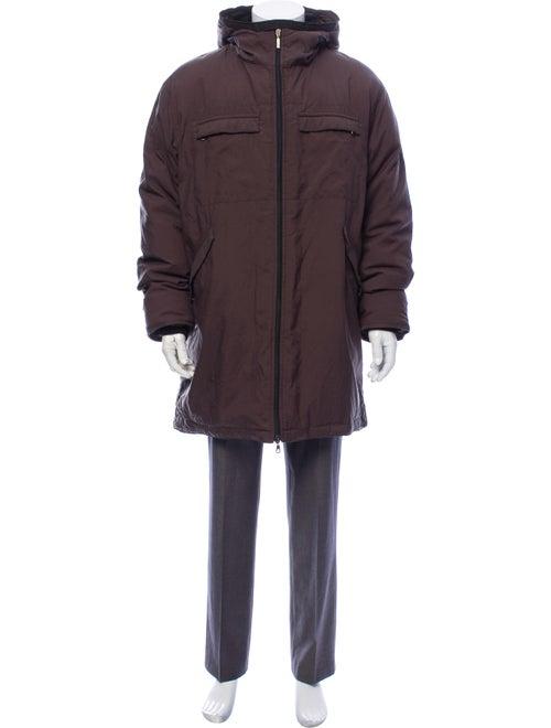 Moncler Vintage 1990's Coat Grey