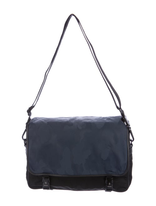 Moncler Nylon Messenger Bag Black