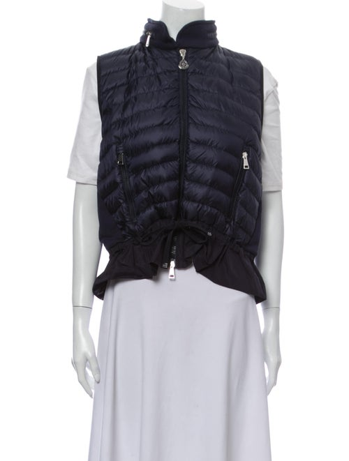 Moncler Down Jacket Blue