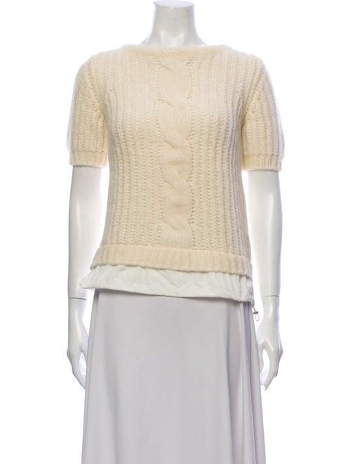 Moncler Alpaca Crew Neck Sweater