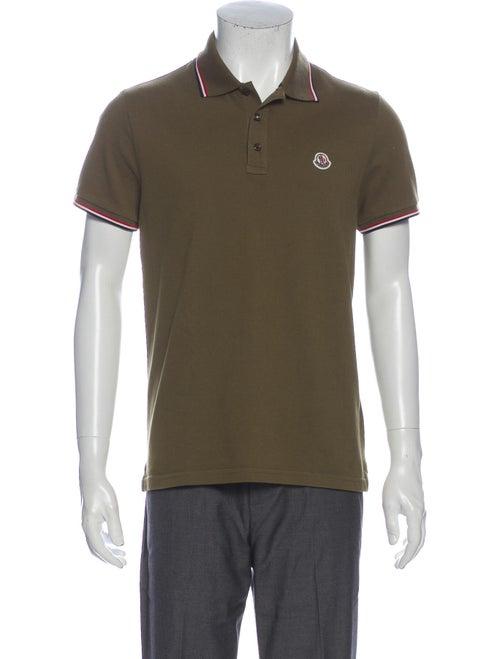 Moncler Short Sleeve Shirt Green