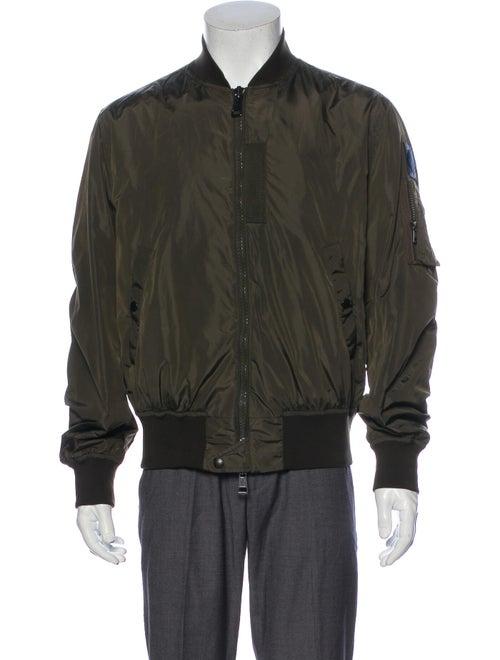 Moncler Bomber Jacket Green