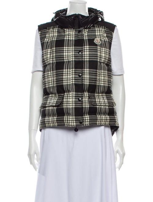 Moncler Amarige Down Vest Wool Vest Black
