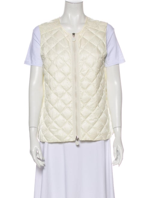 Moncler Down Jacket White