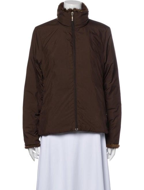 Moncler Vintage Down Jacket Brown
