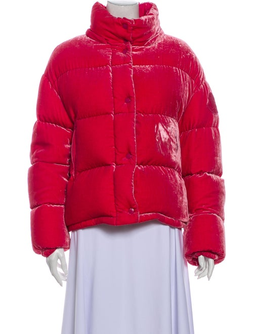Moncler Caille Down Jacket Pink