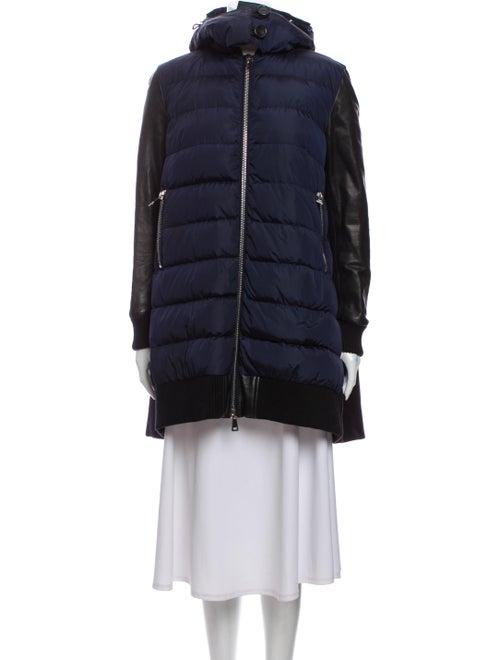 Moncler Down Coat Blue