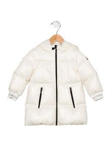 Moncler Girls' Hooded Down Coat