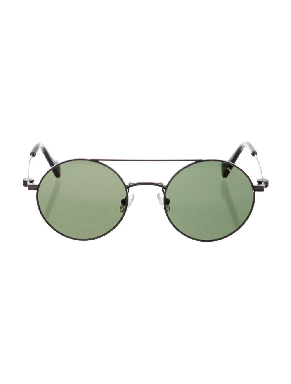 Moncler Round Tinted Sunglasses Silver - image 1