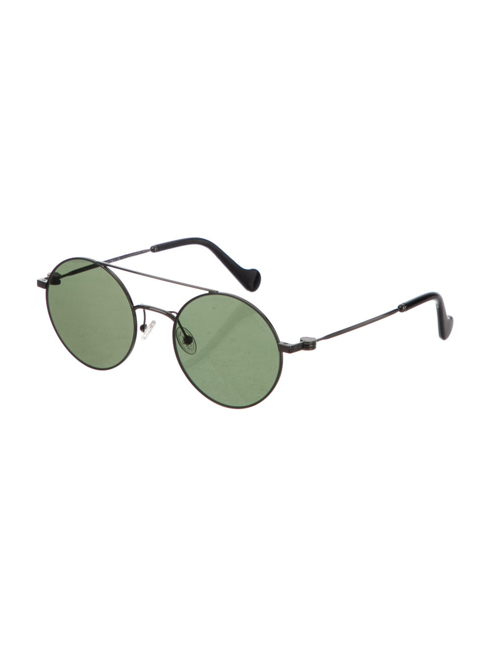 Moncler Round Tinted Sunglasses Silver - image 2