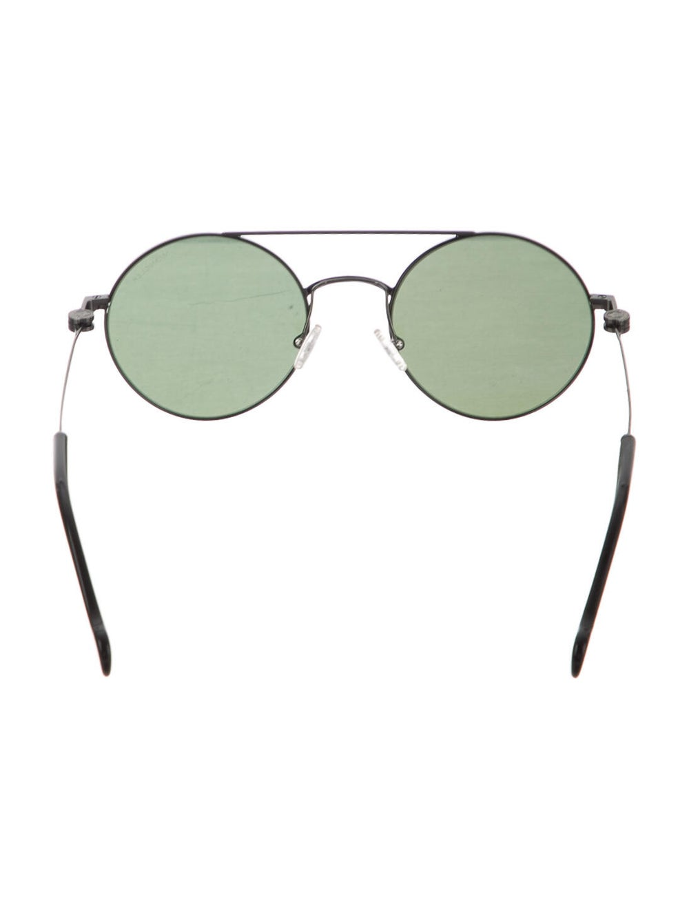 Moncler Round Tinted Sunglasses Silver - image 3