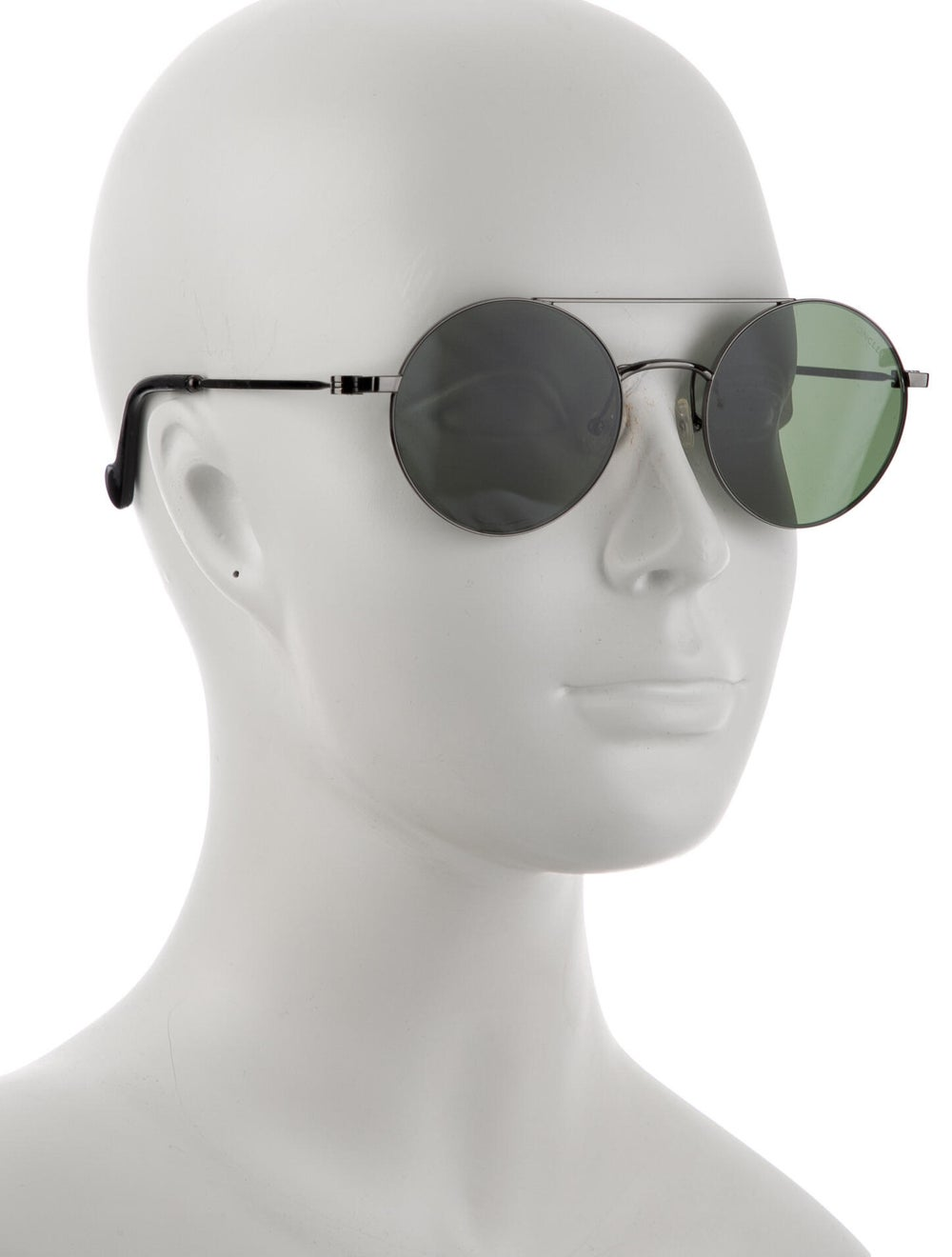 Moncler Round Tinted Sunglasses Silver - image 4