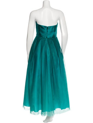 Sleeveless Ombré Gown w/ Tags