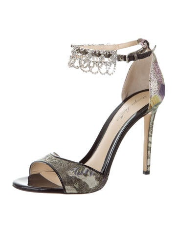 Monique Lhuillier Evelyn Crystal-Embellished Sandals buy cheap store outlet Cheapest big sale sale online authentic cheap price clearance ebay syJS4QivO