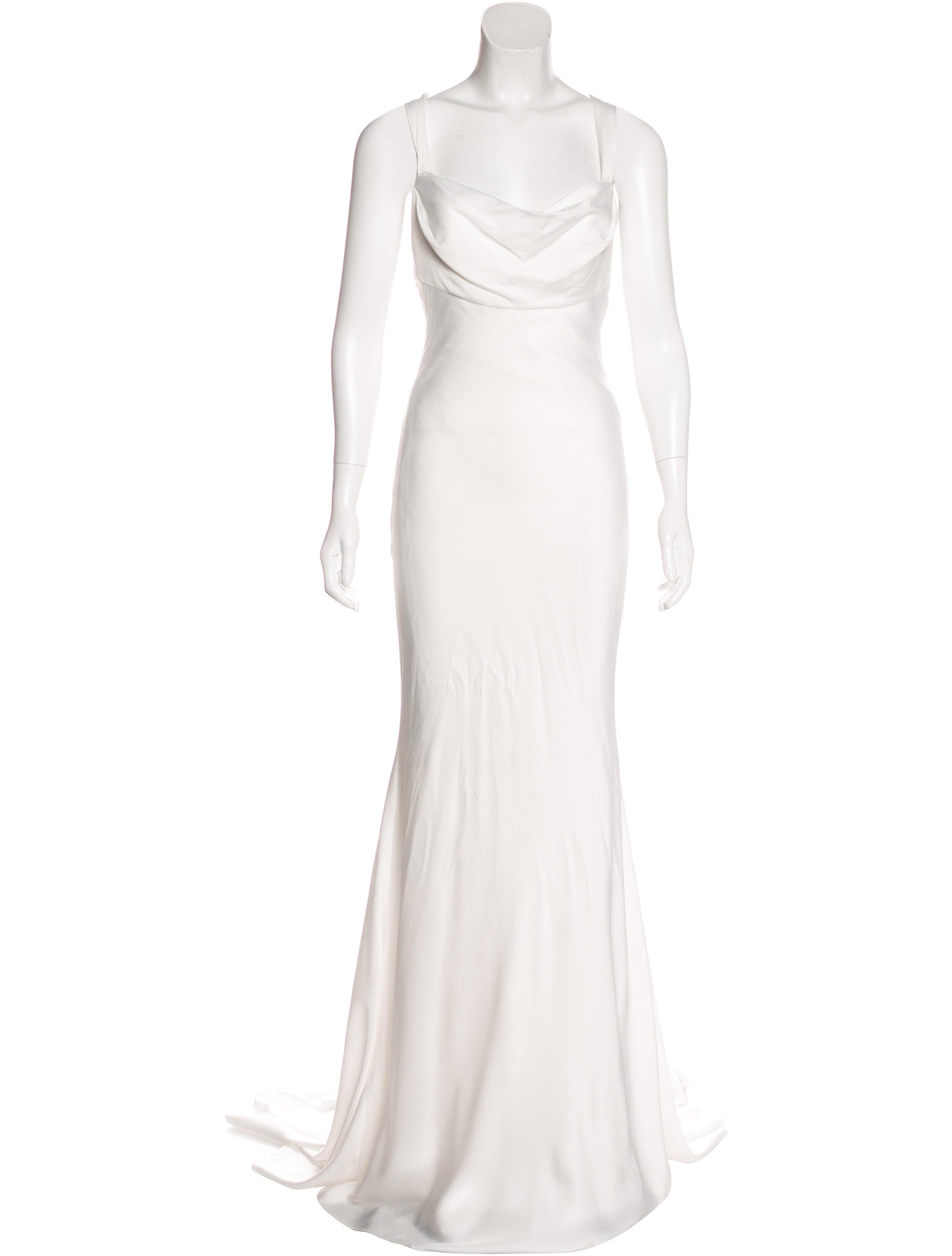 Monique Lhuillier Galina Silk Blend Dress W Tags Clothing