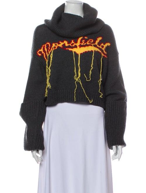 Monse Wool Printed Sweater Wool