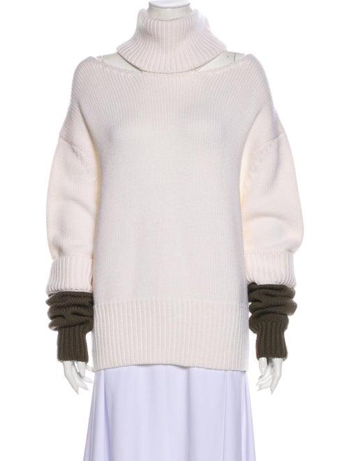 Monse Wool Turtleneck Sweater Wool
