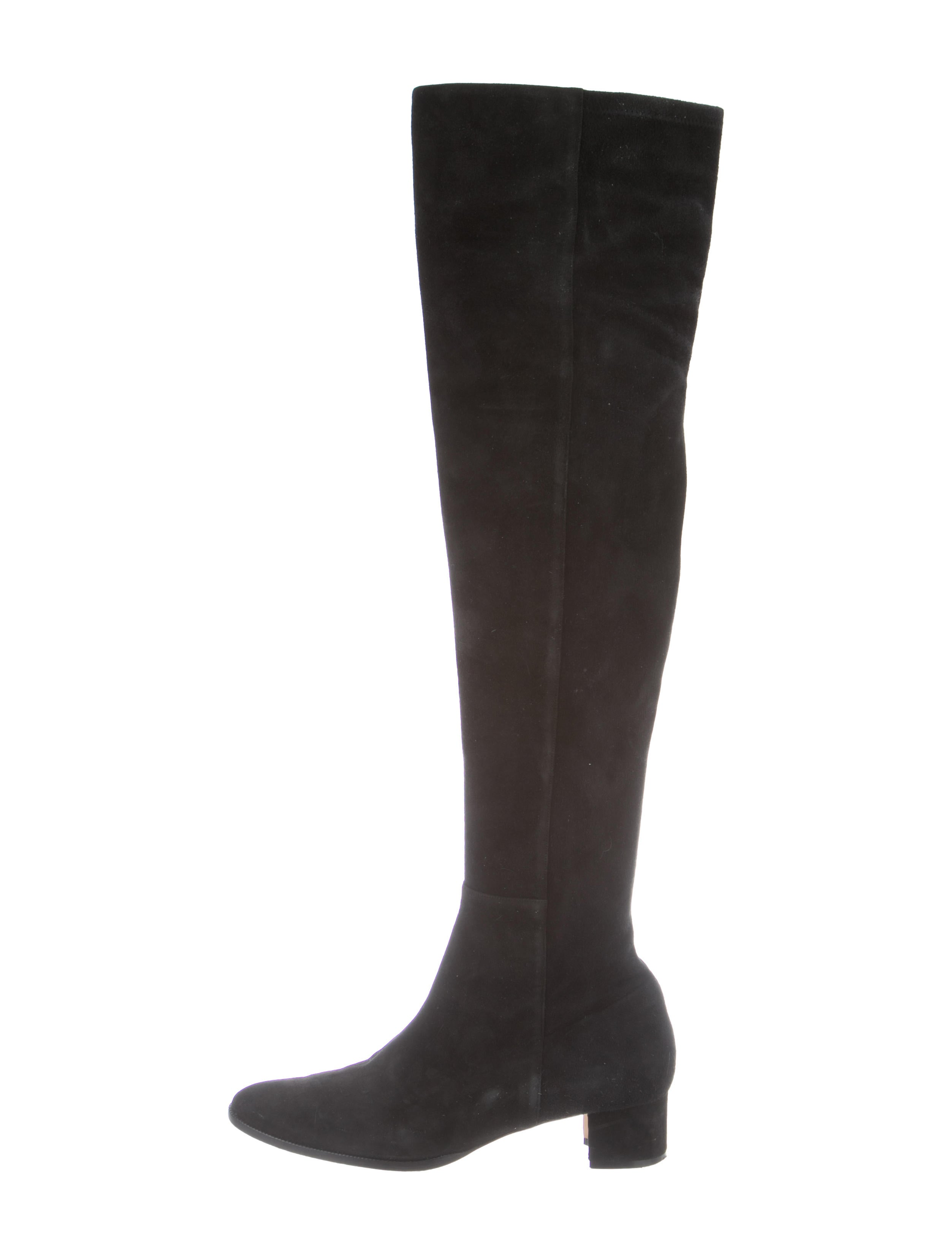 4fa03c8c0e4 Manolo Blahnik Pampahi Over-The-Knee Boots - Shoes - MOO100390