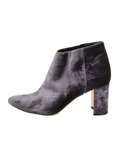 Manolo Blahnik Boots Purple