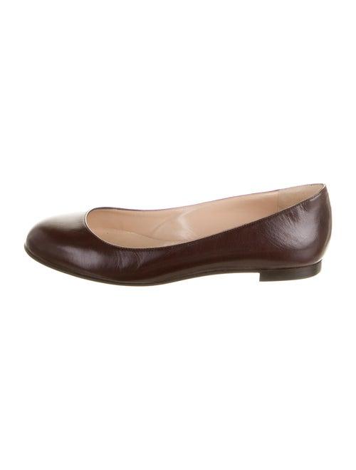 Manolo Blahnik Ballet Flats Brown