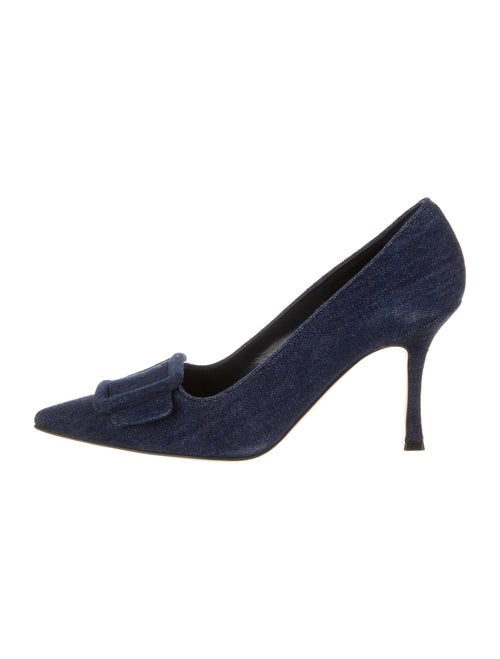 Manolo Blahnik Pumps Blue