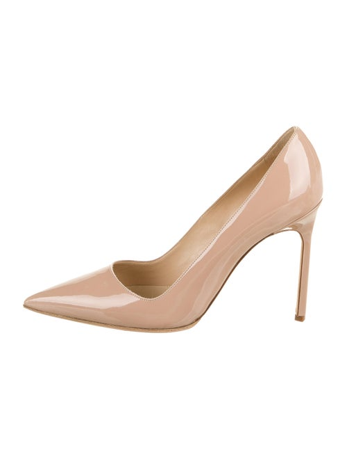 Manolo Blahnik Patent Leather Pumps