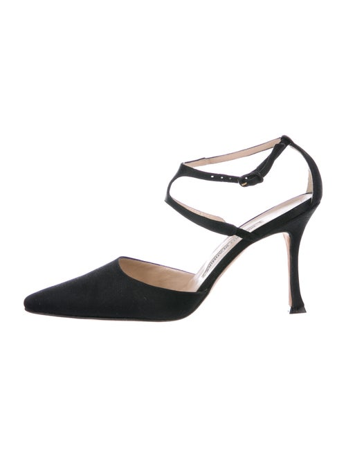 Manolo Blahnik D'Orsay Pumps Black